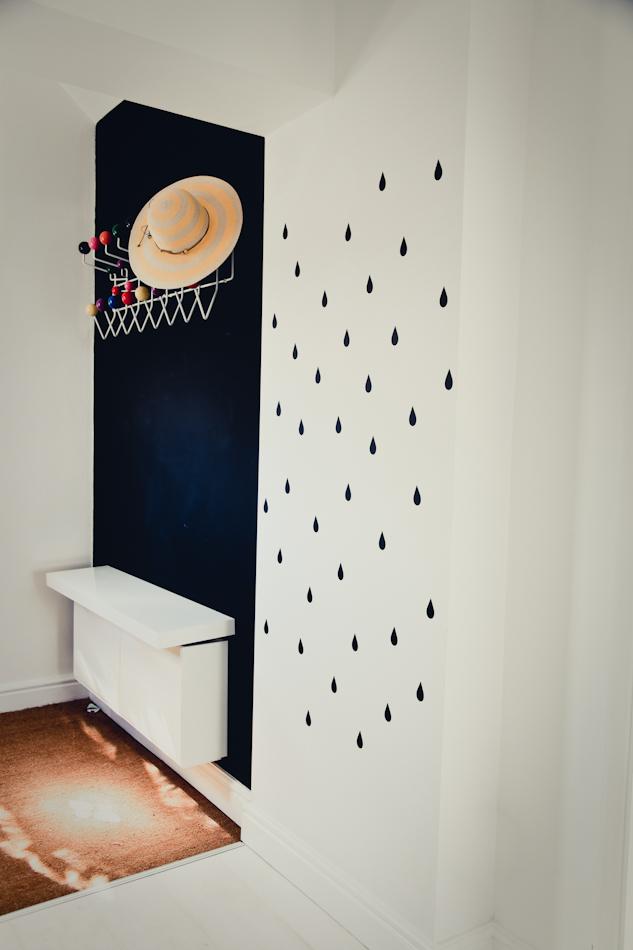 Un recibidor muy original decorar tu casa es - Como hacer un recibidor original ...