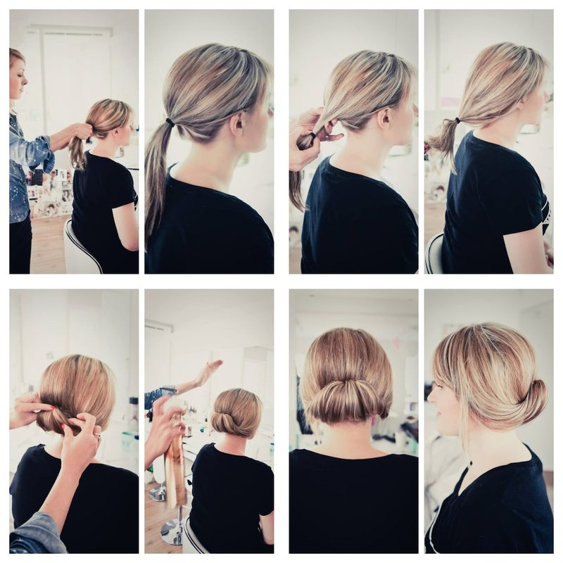 Hair Roll Tutorial Breathe Happiness