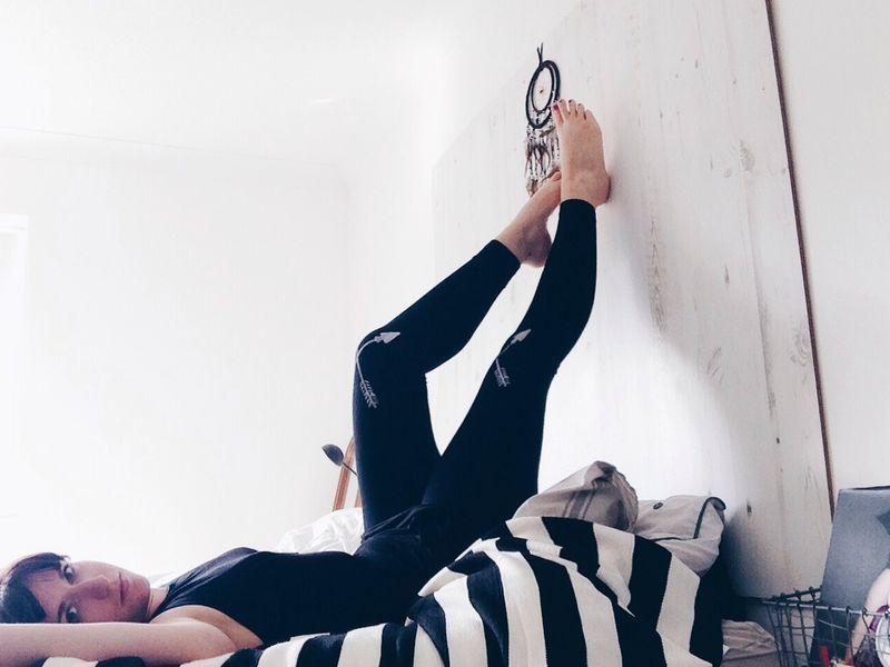 Shaneen hello leggings bedroom