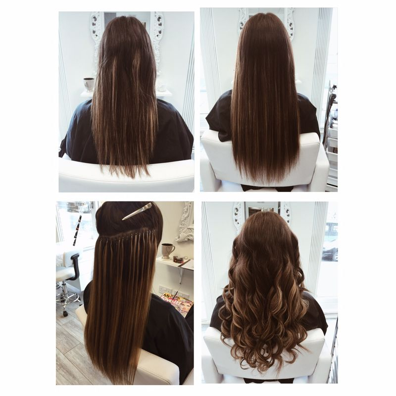 Micro ring hair extensions by forever gorgeous breathe happiness hair extensions pmusecretfo Images