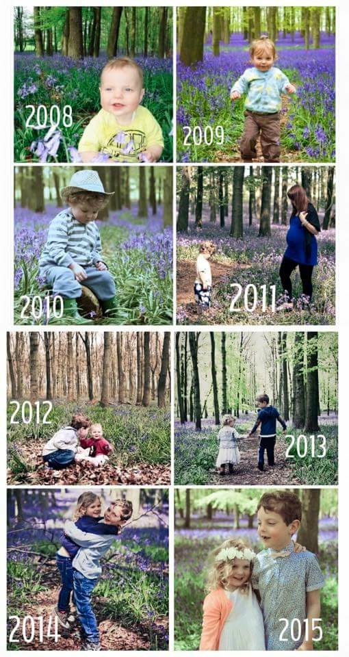 Bluebell photo tradition Rosewarne Cox Photography